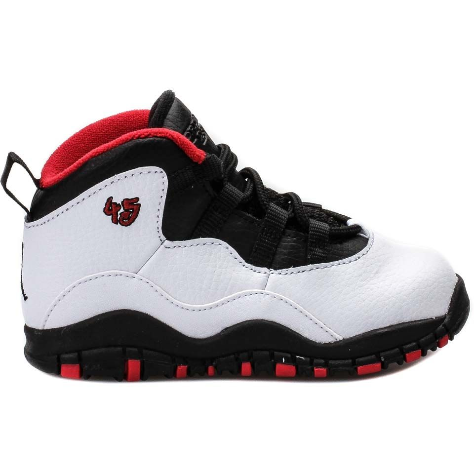 d07b7e5d035 Jordan 310808-102 Air Jordan Retro 10 Double Nickel Lifestyle Shoes (White Varsity  Red-Black) Limit 1 Per Customer at Shoe Palace