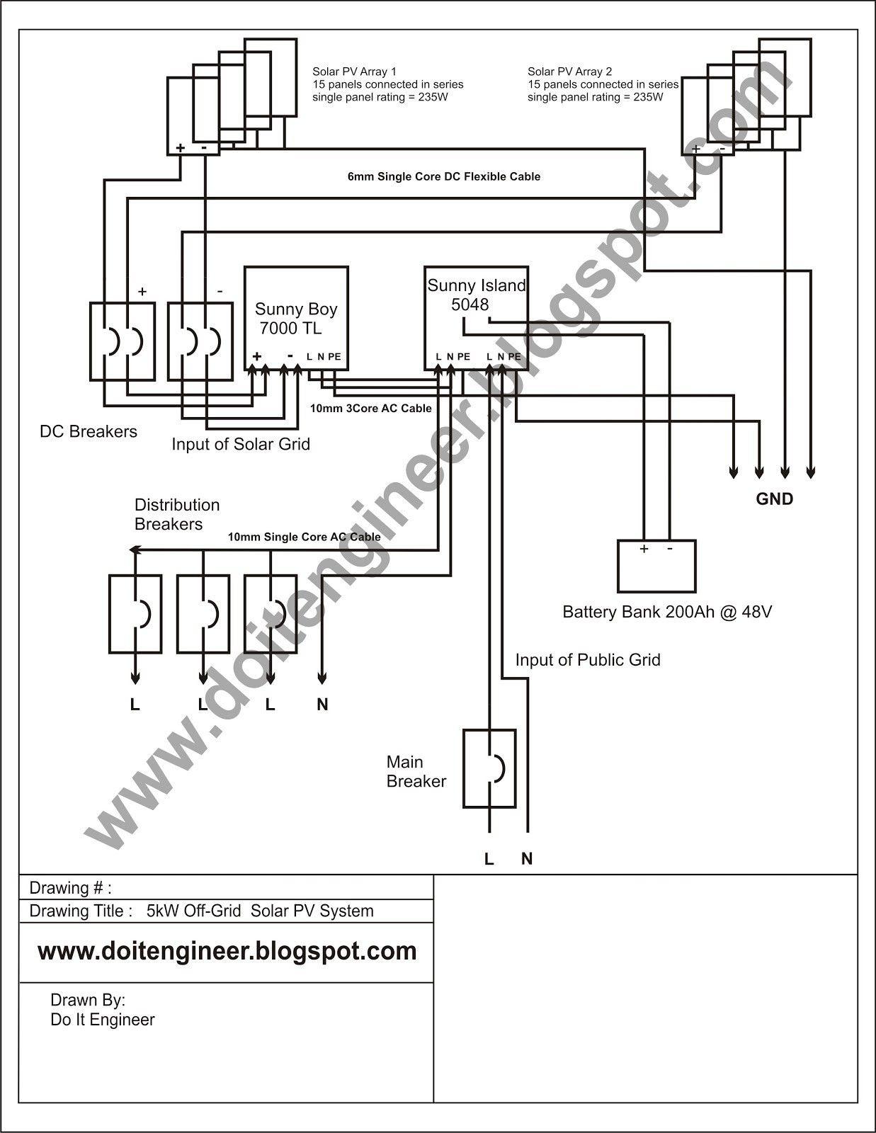 New Inverter Wiring Diagram Pdf  Diagram  Diagramsample