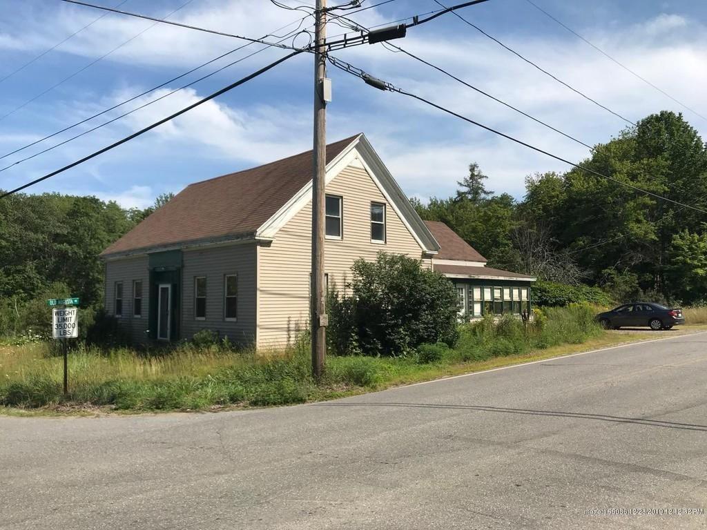 Under 75K Thursday Maine Farmhouse For Sale w/4 Acres