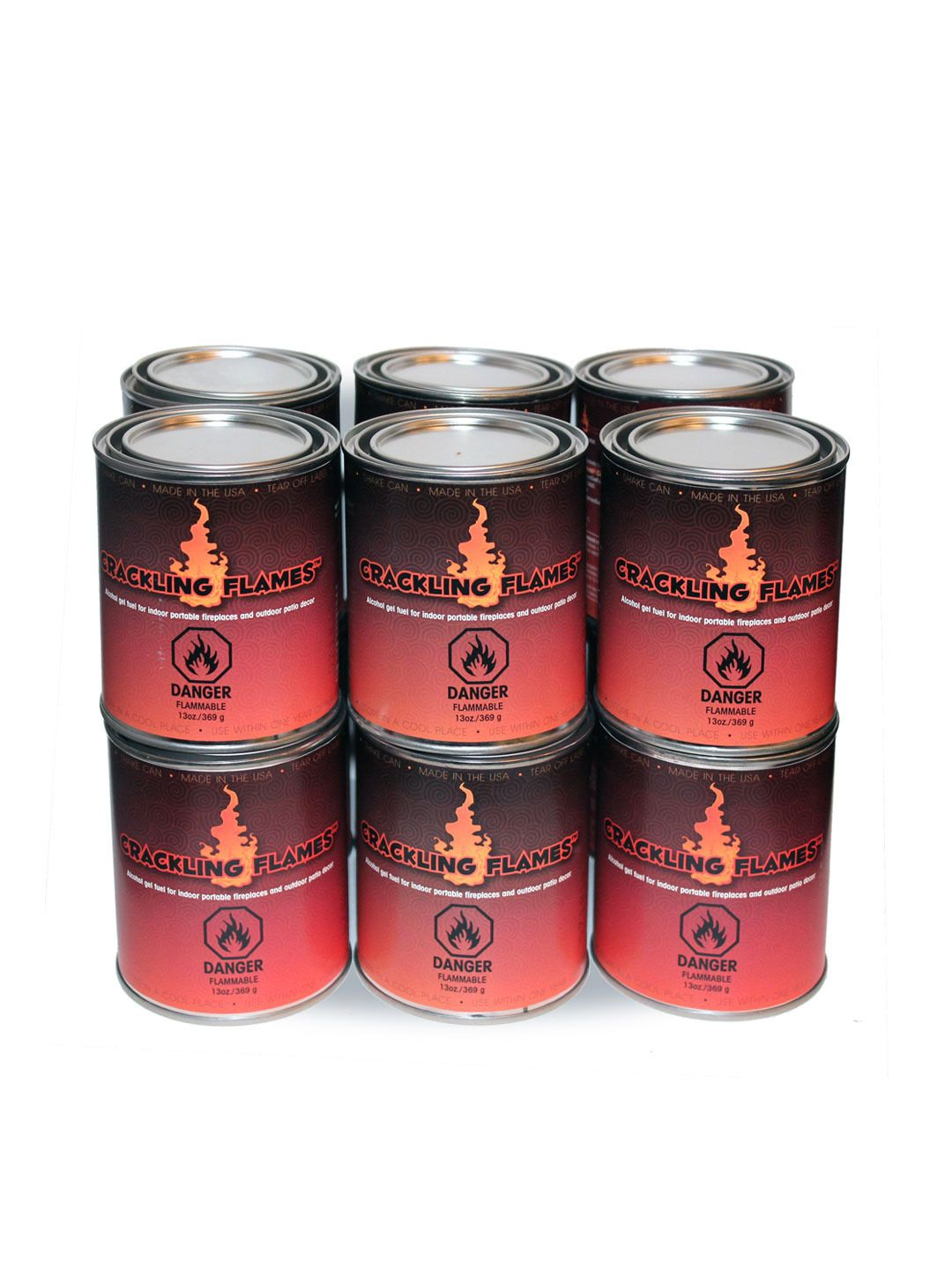Anywhere Fireplace Gel Fuel 13 Oz. Cans (12 PK) - Gilt Home ...