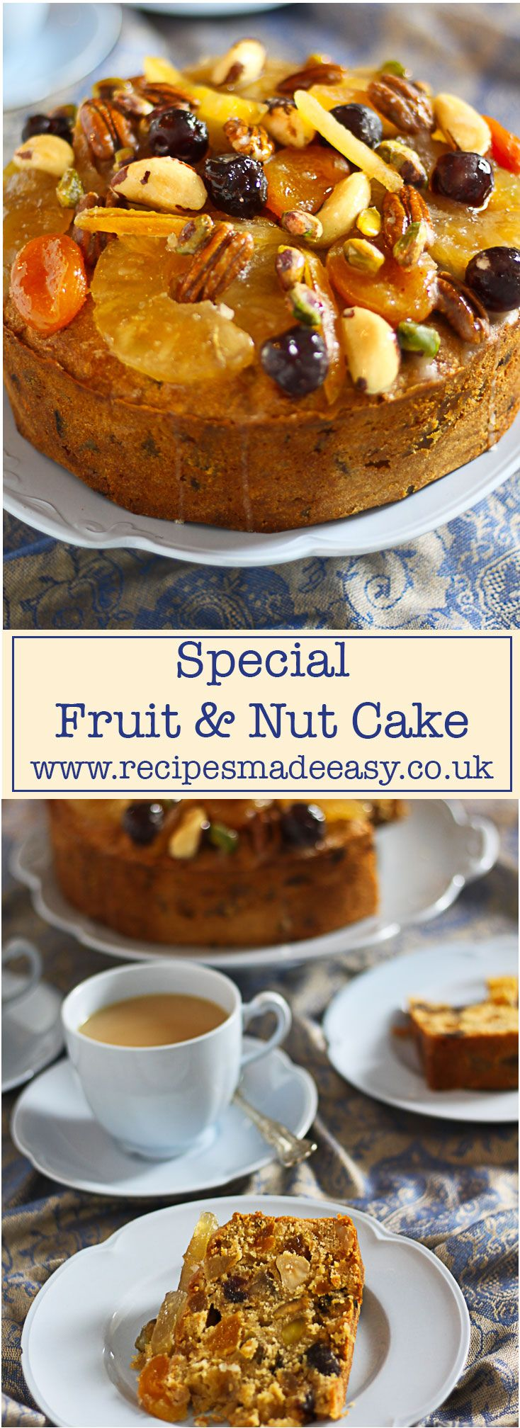Check out Special Fruit and Nut cake. It s so easy to make ...