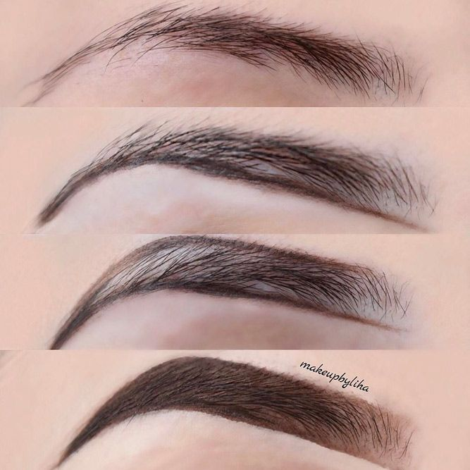 How To Fill In Eyebrows Like A Pro Makeup Pinterest Eyebrow