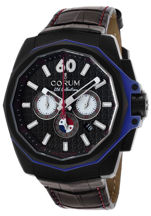 Men's Ltd Ed Admiral's Cup AC-One Americas Auto Chrono Panama Theme -