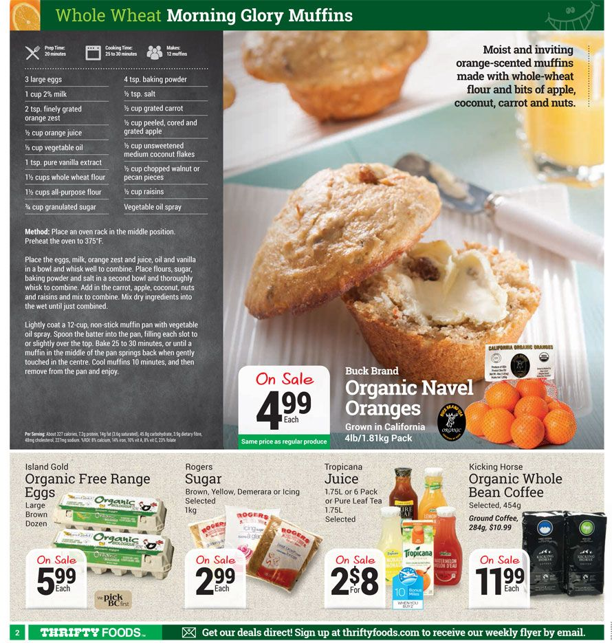 Thrifty Foods Weekly Specials Thrifty Foods Flyer (pg
