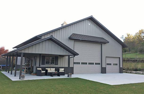 Forest City IA, Hobby Shop, K-Van Construction Co. Inc., Lester Buildings #polebarns