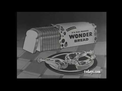 WONDER BREAD CLASSIC COMMERCIALS TV SHOWS CARTOONS | Classic