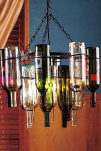 How to make wine bottle chandelier wine bottle chandelier bottle how to make wine bottle chandelier mozeypictures Choice Image