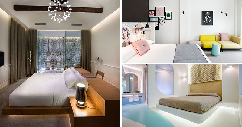 10 Hotel Room Design Ideas To Use In Your Own Bedroom Hotel Bedroom Design Modern Hotel Room Hotel Room Design Hotel room interior design ideas