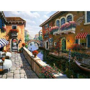 Венецианская улица ( художник Пейман Боб) Раскраска ...