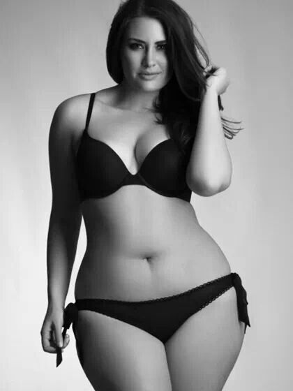 Beautiful chubby women