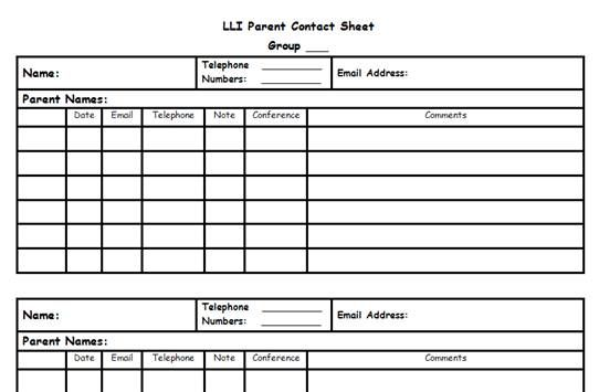 Leveled Literacy Intervention ideas and forms for RIMS LLI - attendance sheet template word