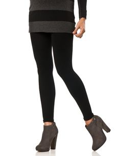 852fa260644f1 Fleece Lined Legging - Aha! Because winter is COLD, y'all. I wish I ...