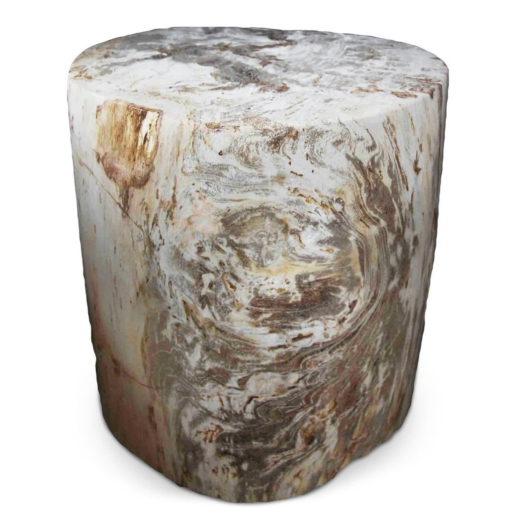 Petrified Wood Log Stool Pf 2035 By Aire Furniture In 2020 Log