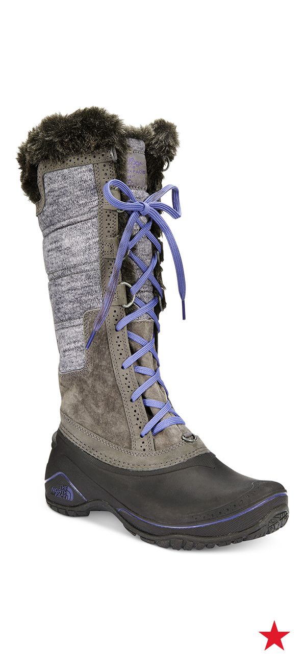 Shellista Lace-Up Cold Weather Boots