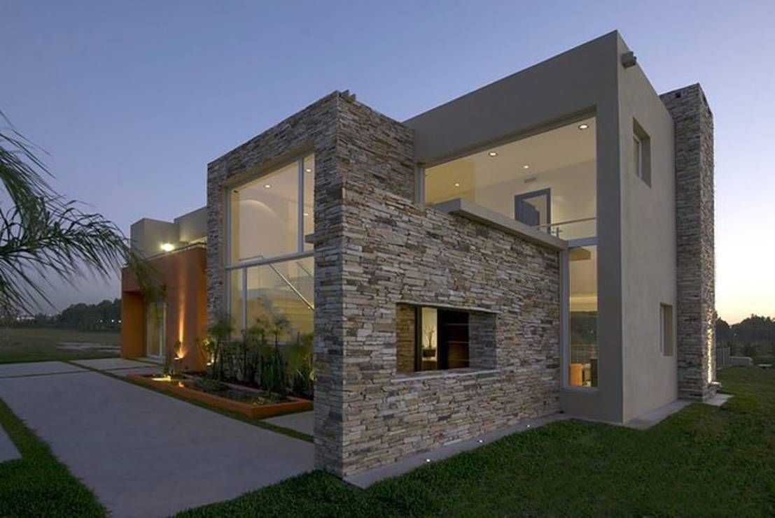 casas de piedra modernas mexicana mg pinterest casas