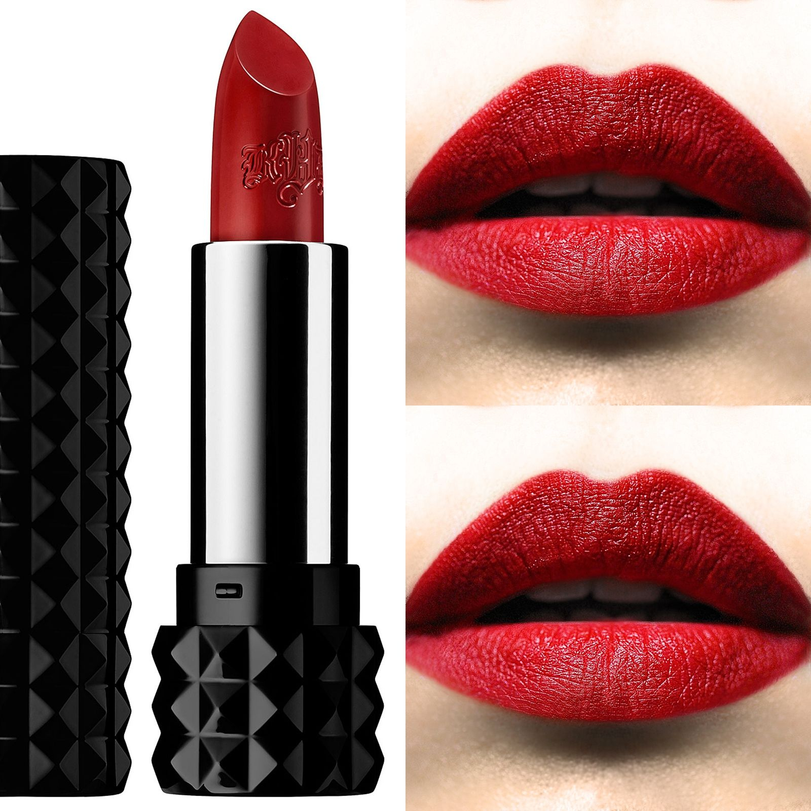 28e322b0c90 My lip swatch of #KatVonD #StuddedKiss Lipstick in #Hexagram | Kat ...