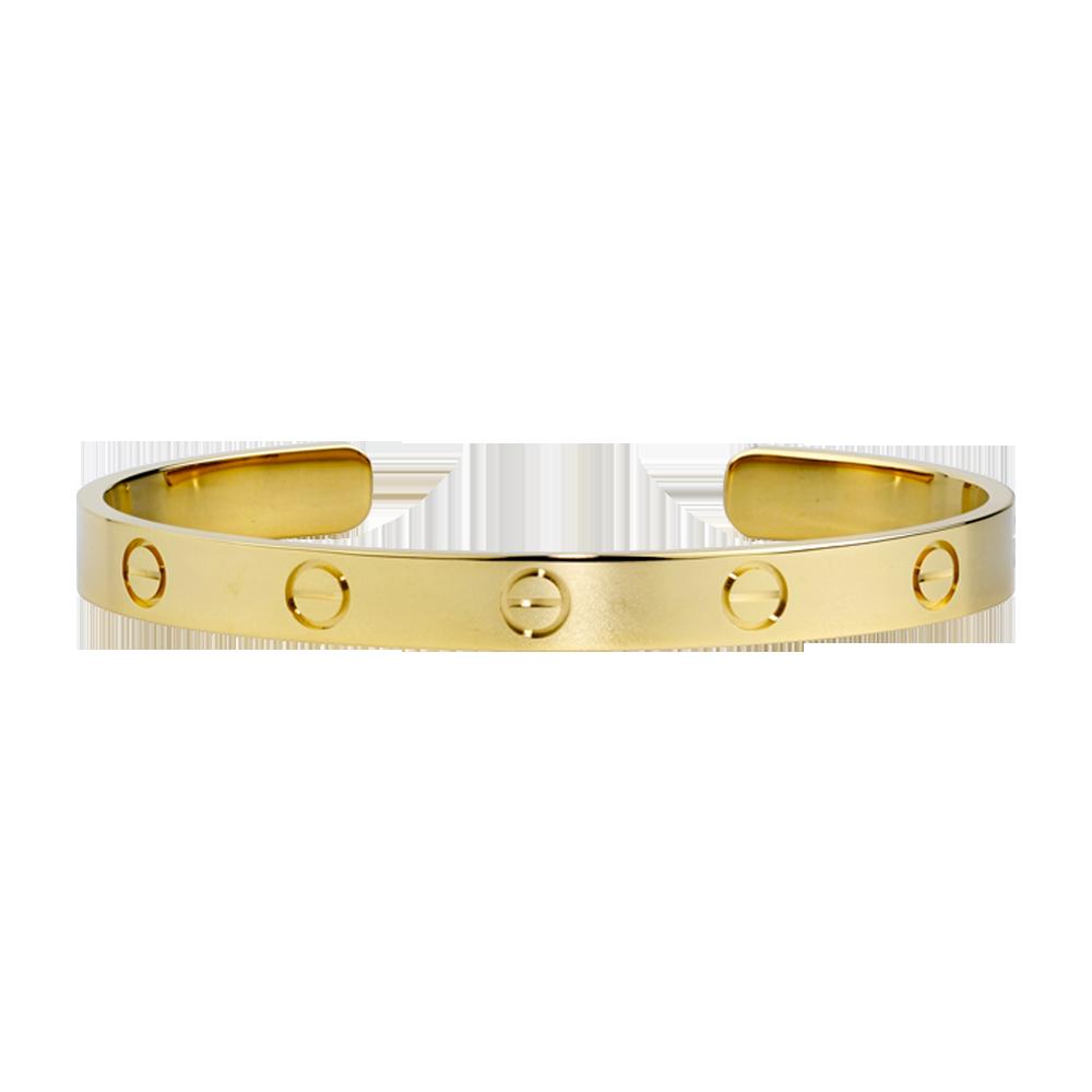 fb9bd669516 LOVE bracelet - Yellow gold - Fine Bracelets for men and for women - Cartier   4