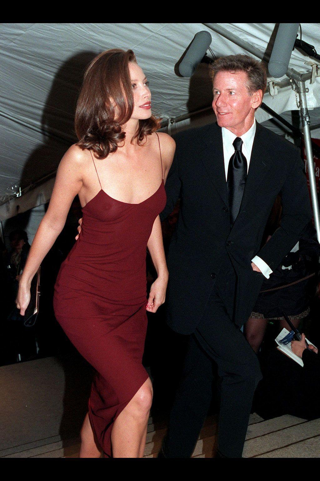 31cdbb664568 Christy Turlington - HarpersBAZAAR.com Red Slip Dress, Slip Dresses, Prom  Dresses,