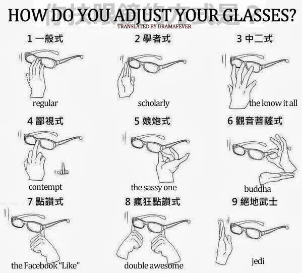 Adjusting Glasses Anime Funny Anime Anime Memes Funny