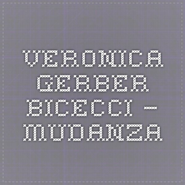 Veronica Gerber Bicecci - — mudanza