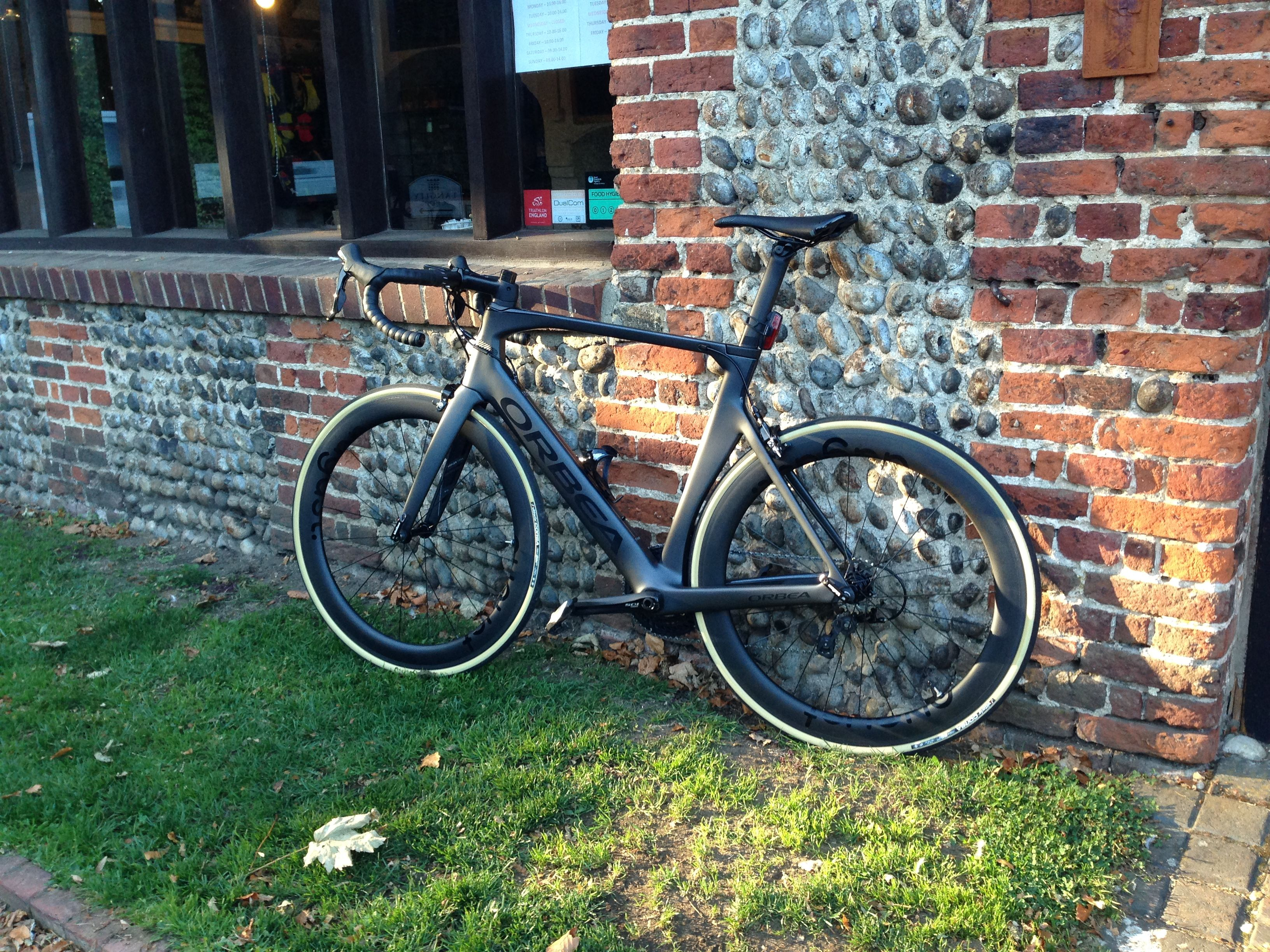Orbea Orca Aero Skin Wall Tyres Augustbicycles Touring Bike
