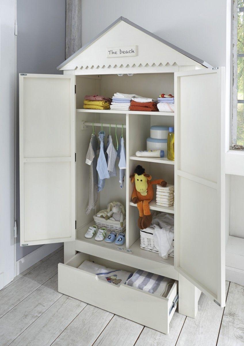 Kleiderschrank Babyzimmer Schublade Schrank Kinder Kiefer
