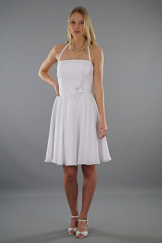 Brautkleid Luna - kurzes Hochzeitskleid | Schmetterling | Hochzeit ...