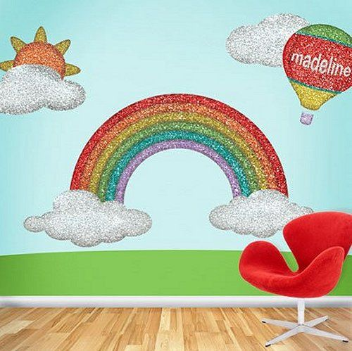 Sunday School Room Murals Theme Bedrooms Rainbow Bedroom Decorating Ideas