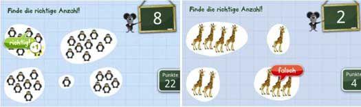 Zahlen lernen für Kinder