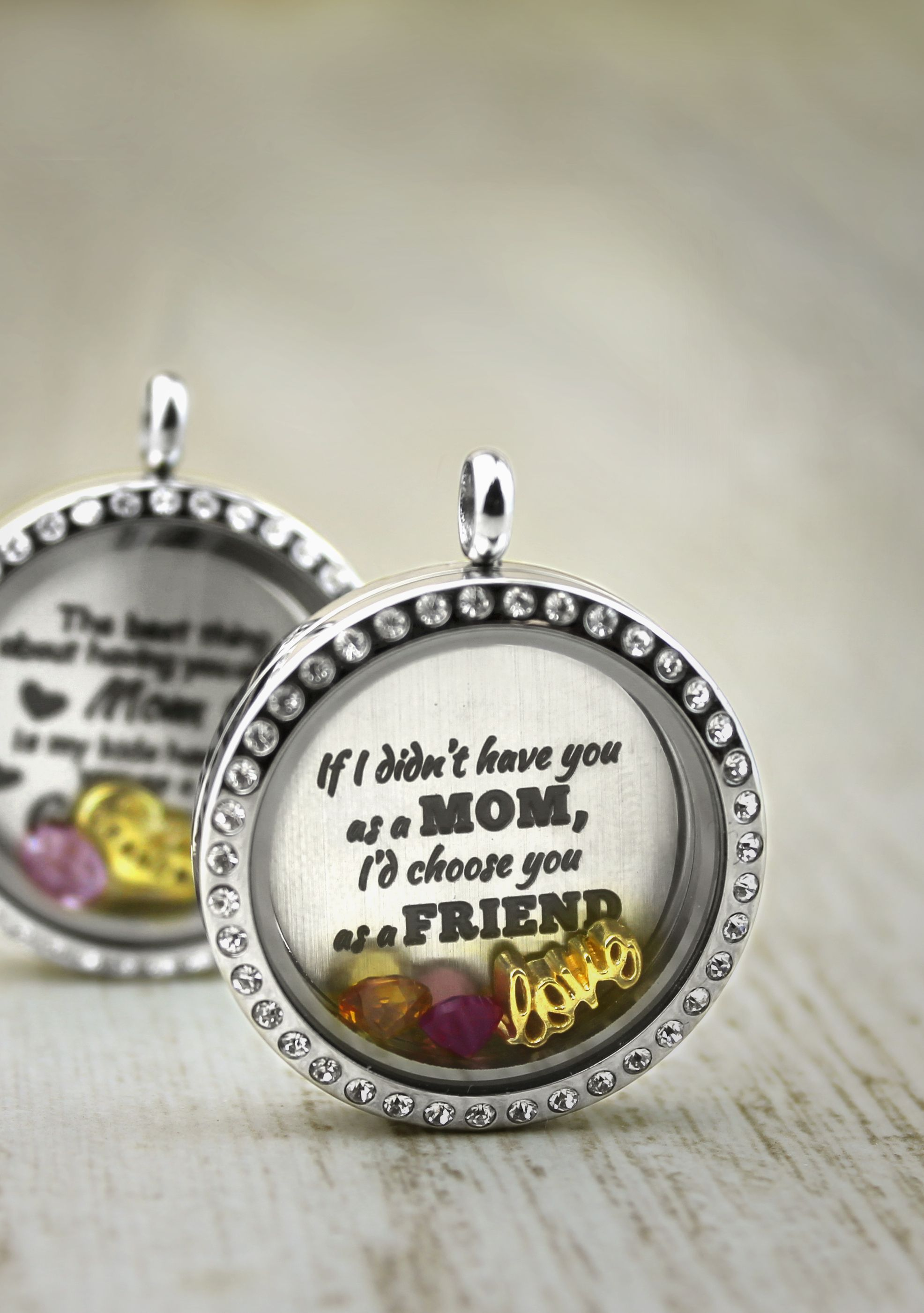 pin necklace lockets best friend friends story design themed locket your memory