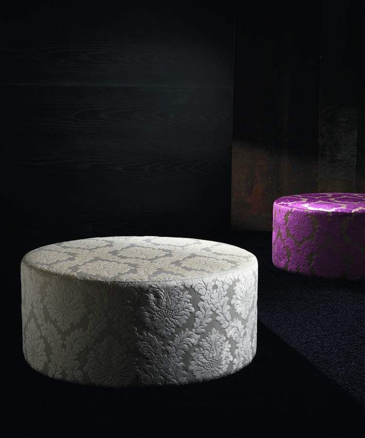 Upholstered pouf Buffo | milanomondo