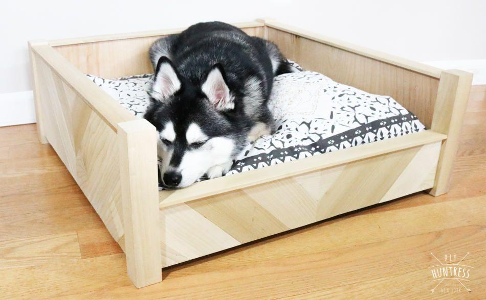 Diy Custom Wooden Dog Bed Diy Dog Bed Custom Dog Beds Dog Bed
