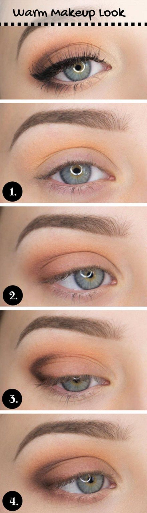 For blue eyes for striking beautiful looks everyday makeup for blue eyes for striking beautiful looks makeup looks everydaysoft baditri Gallery