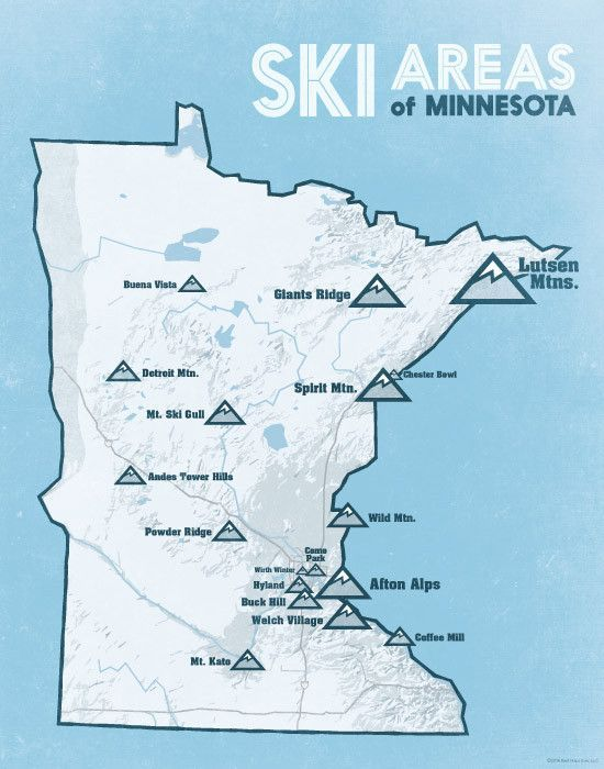 Camping In Minnesota Map on