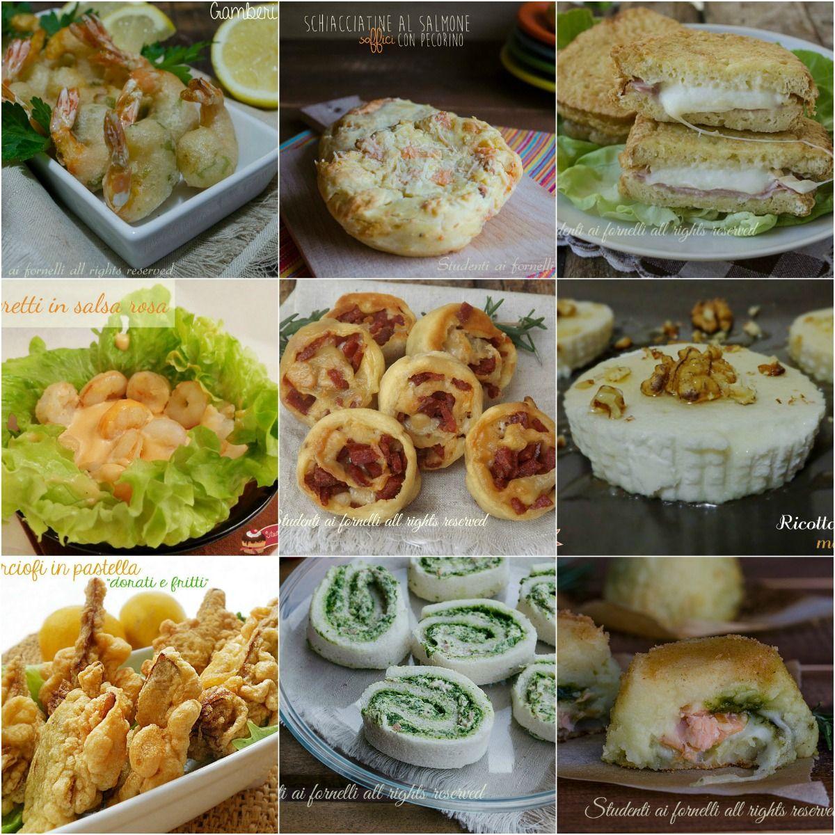 Antipasti veloci di capodanno ricette sfiziose cenone 2016 for Ricette di cucina antipasti