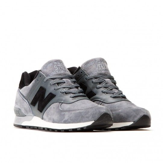 sports shoes 69497 2c6da New Balance M 576 PLG Made In England (Grey / Black ...