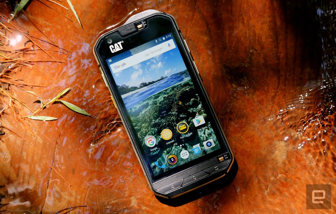 I accidentally broke the superrugged Cat S60 smartphone