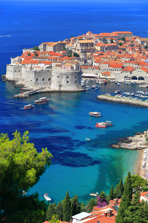 La ciudad antigua de Dubrovnik es una de las grandes visitas que ver en Croacia.