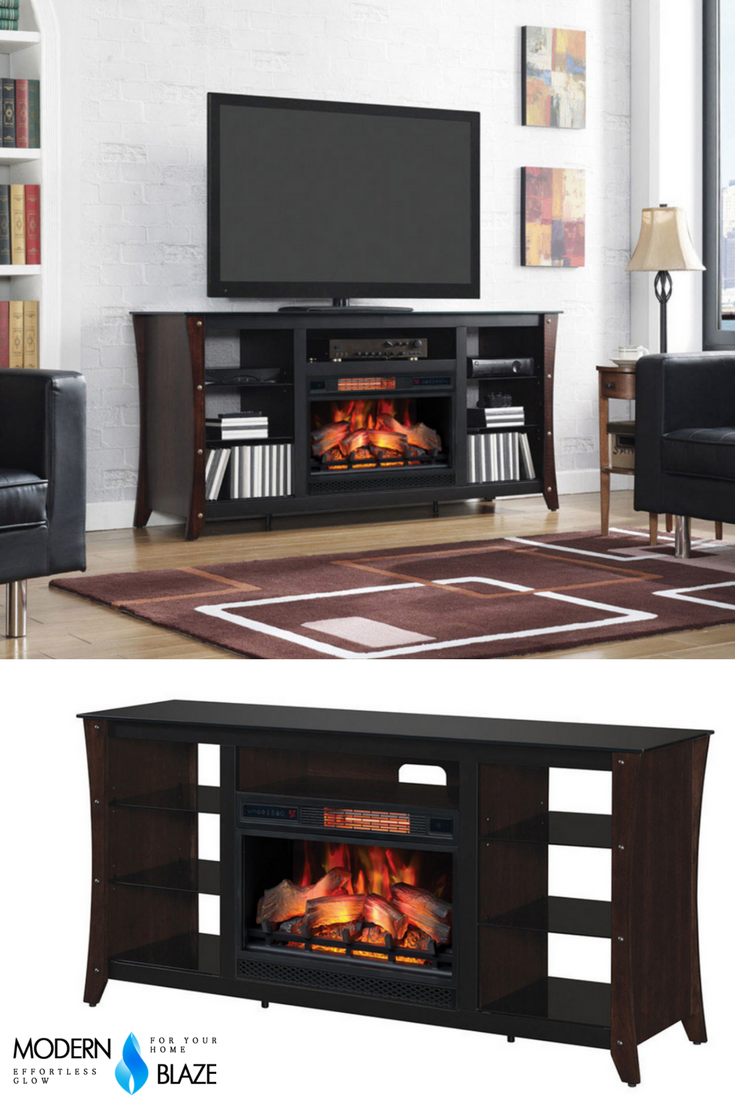 Classic Flame Marlin 66 Tv Stand With Infrared Electric