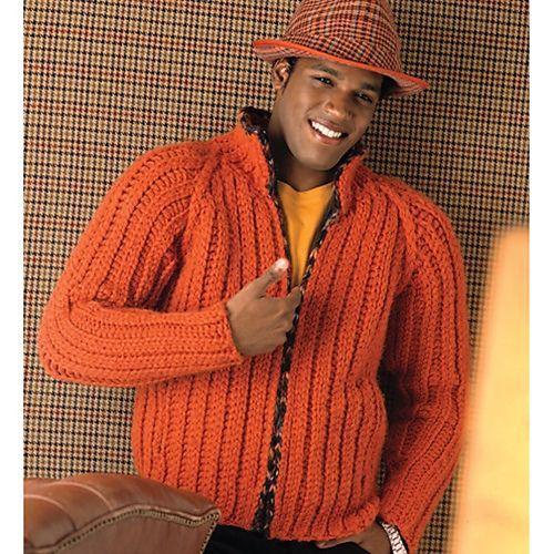 10 Crochet Sweater Patterns for Men