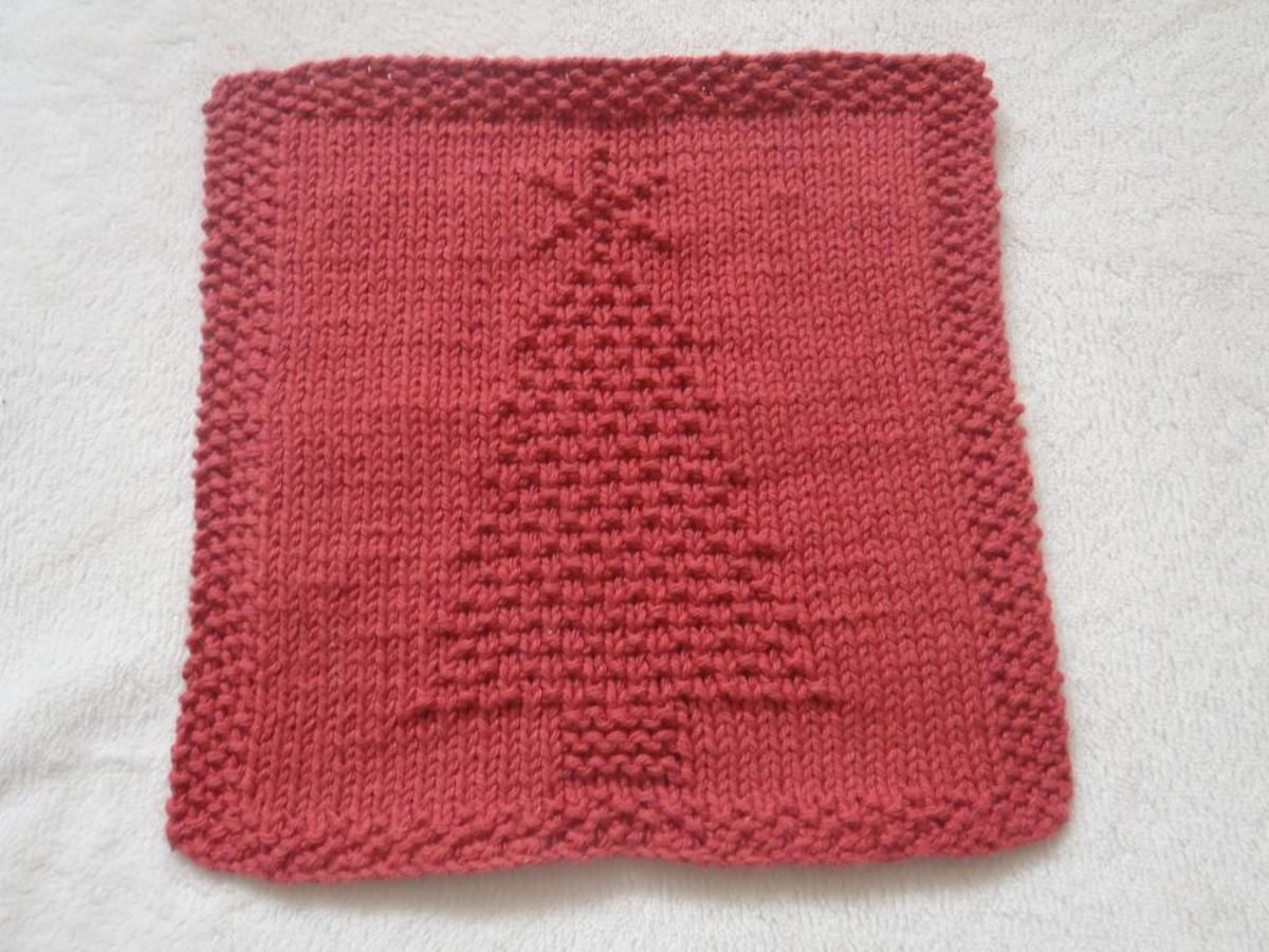 Christmas Tree Dishcloth Craftsy Christmas Knitting Dishcloth Knitting Patterns Christmas Knitting Projects