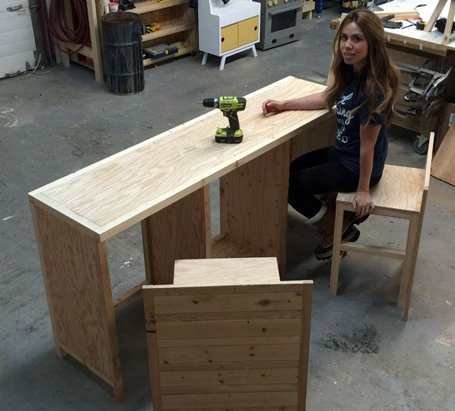 hidden desk furniture. Ana White | Build A Hidden Desk Apothecary Cabinet Free And Easy DIY Project Furniture Plans.