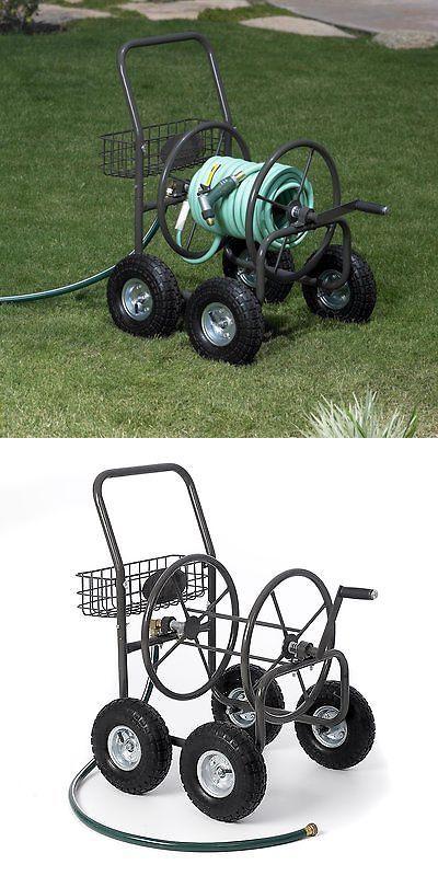 Hose Reels And Storage 46435: Liberty Garden 4 Wheel Hose Reel Cart  U003e BUY  IT NOW ONLY: $91.26 On EBay!