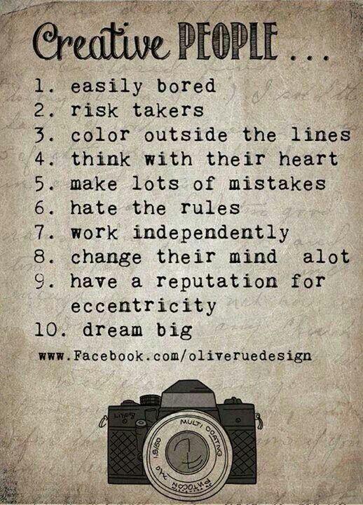 Creative people