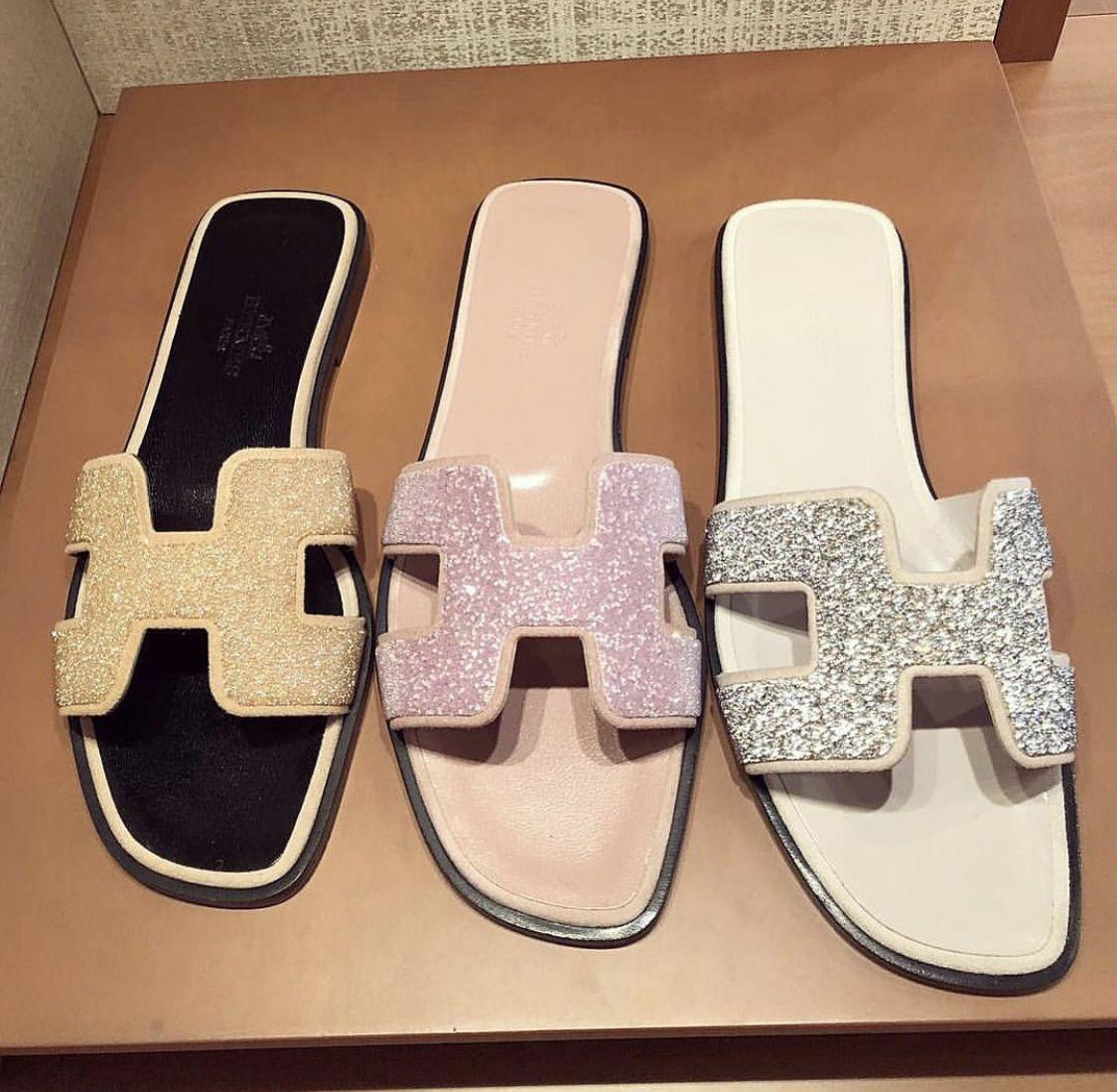 Hermes shoes, Hermes slippers