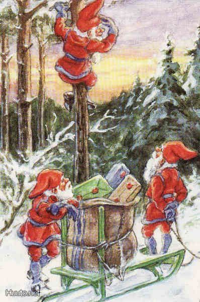 Elves Or Gnomes Scandinavian Christmas Gnomes Fairies Elves