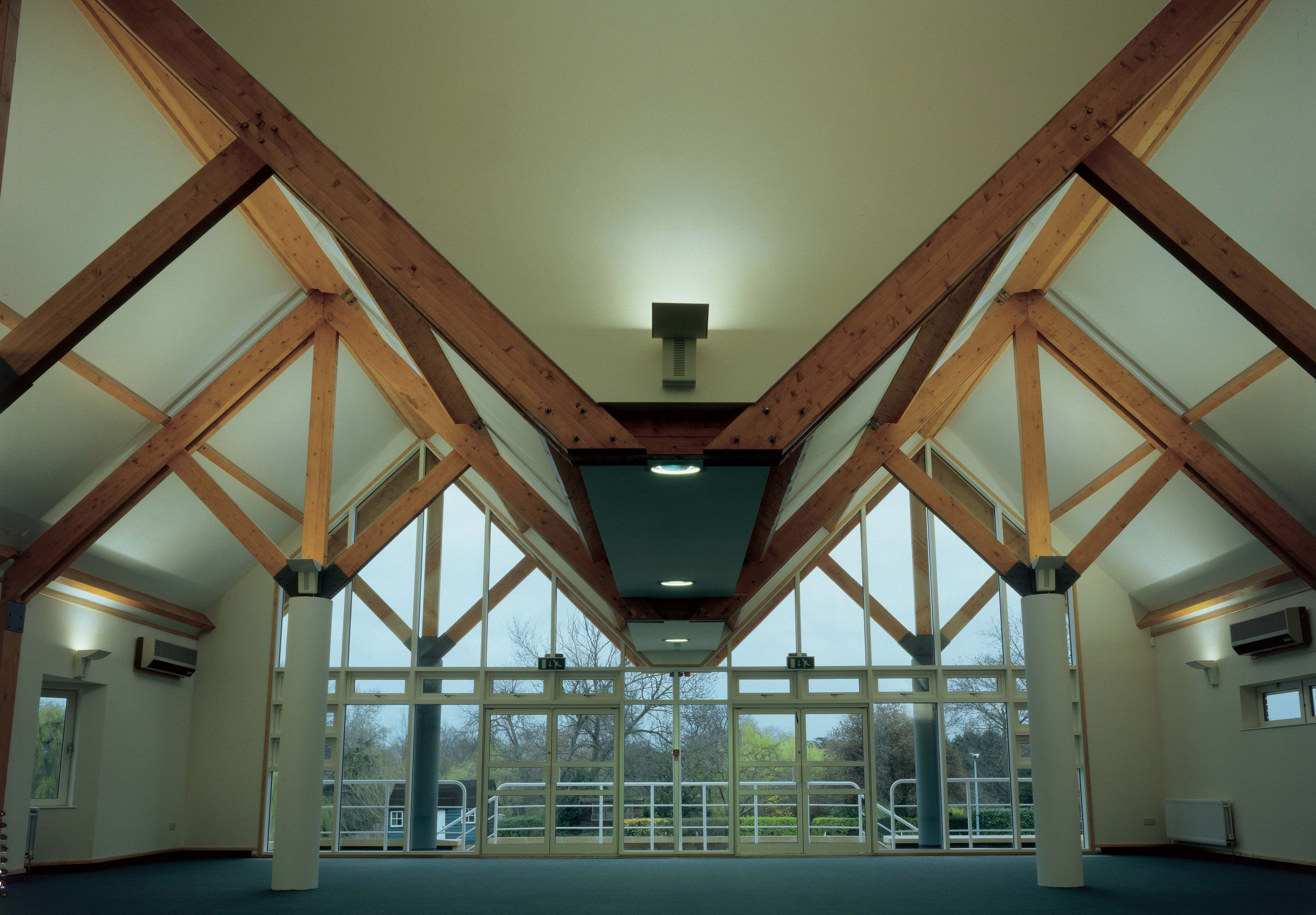 Internal #Bespoke Feature Trusses From Scotts Of Thrapston #Featuretrusses #Joinery