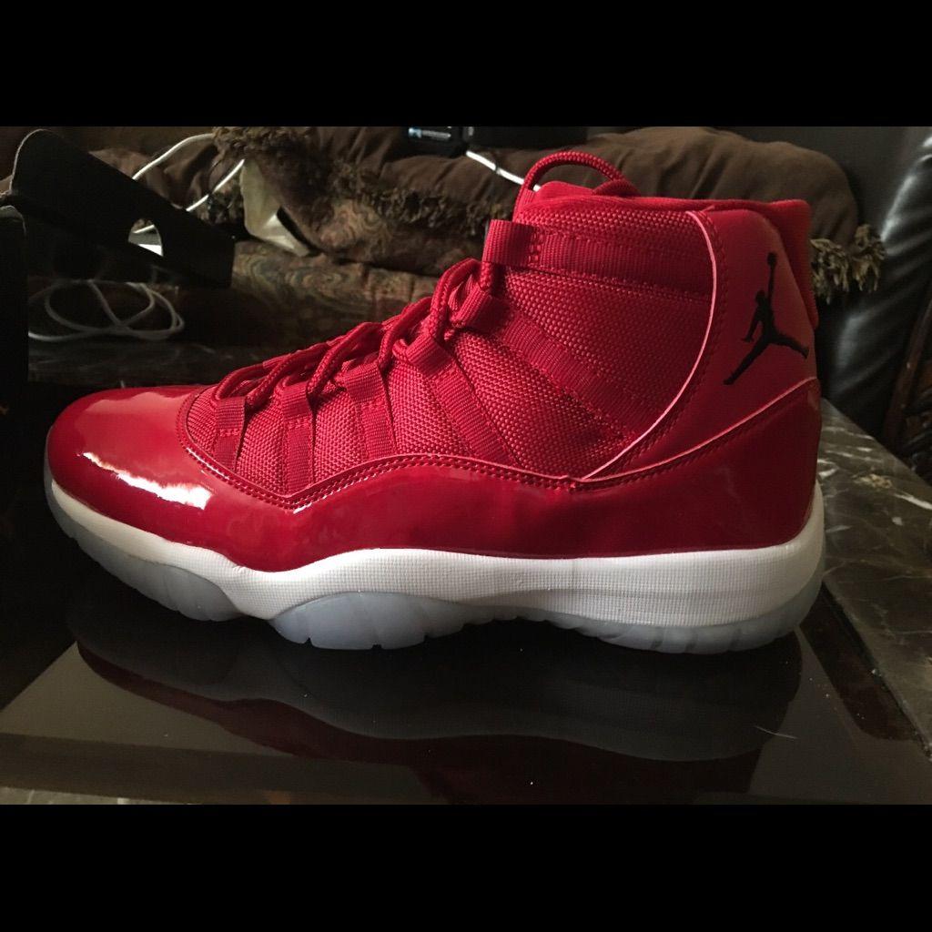 pretty nice e6c35 d14a1 Jordan Shoes | Jordan Retro 11 Win Like 96 | Color: Red ...
