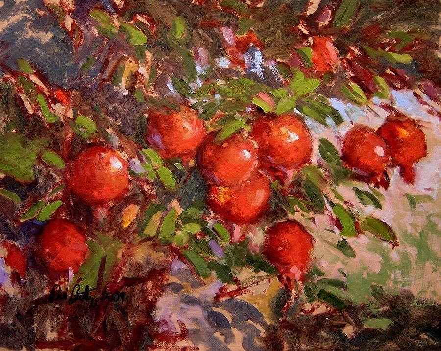 pomegranate tree - Google'da Ara | Painting, Yağlı boya ... Persian Pomegranate Trees For Sale