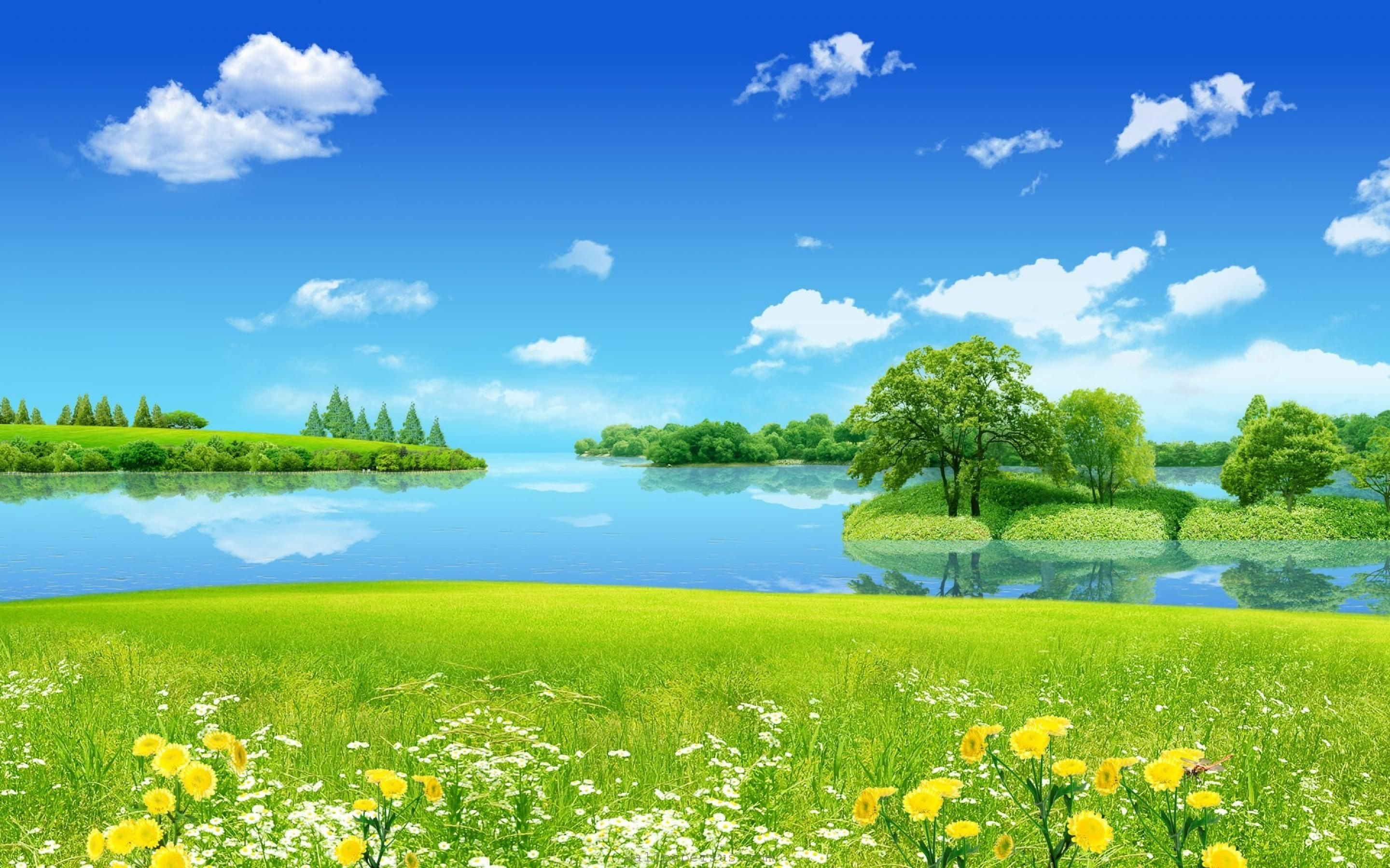 Lovely Nature Wallpaper 4 Jpg 2880 1800 Nature Desktop 3d Nature Wallpaper Nature Desktop Wallpaper